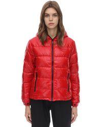 Duvetica Kuma Nylon Down Jacket - Red