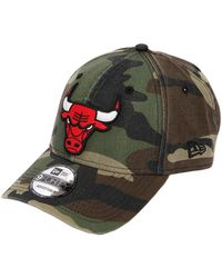 KTZ - 9forty Camouflage Bulls Nba Patch Hat - Lyst