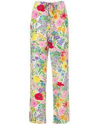 Gucci Garden ジャカードパジャマパンツ - マルチカラー