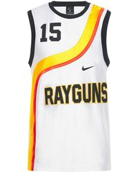 "Nike Tanktop Aus Jersey ""rayguns"" - Weiß"