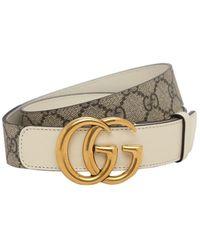 "Gucci - Ремень ""gg Marmont"" 3cm - Lyst"