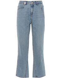ADER error Enge Jeans Aus Baumwolldenim - Blau