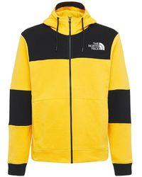 The North Face Himalayan Full-zip Sweatshirt Hoodie - Yellow