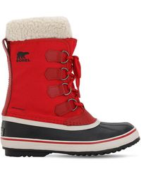 Sorel Winter Carnival ブーツ - レッド
