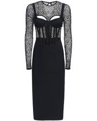 Dion Lee コルセットドレス - ブラック