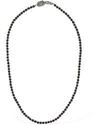 Cantini Mc Firenze Halskette Mit Mikroperlen - Schwarz