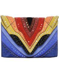 Elena Ghisellini - Swarovski Crystals Felina Rainbow Bag - Lyst