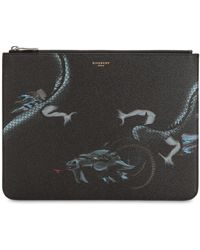 Givenchy - Capricorn Print Coated Canvas Pouch - Lyst