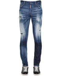 """DSquared² - Jeans """"Cool Guy"""" De Denim De Algodón 16.5Cm - Lyst"""