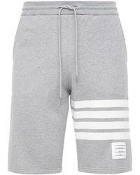 Thom Browne 4-bar Sweatshorts - Grey