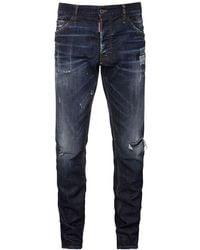 DSquared² Jeans Cool Guy Fit In Denim 16.5cm - Blu