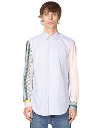 Loewe コットンポプリンシャツ - ブルー