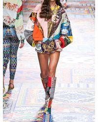 Dolce & Gabbana Свитшот Из Хлопкового Джерси С Принтом - Многоцветный