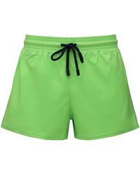 Vilebrequin Recycled Fabric Swim Shorts - Green