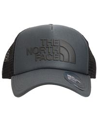 The North Face ロゴトラッカーハット - ブラック