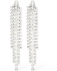 Ca&Lou Teodora Clip-on Pendant Earrings - Metallic