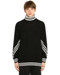 adidas Originals 3stripes Turtleneck Sweater - Black