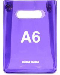 NANA-NANA Сумка Из Пвх А6 - Пурпурный