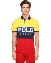 Polo Ralph Lauren Polohemd Aus Baumwollpiqué - Mehrfarbig