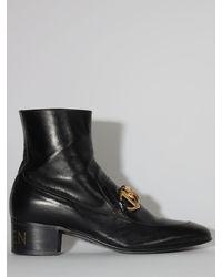 Gucci Ботинки С Пряжкой Horsebit - Черный