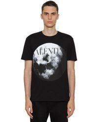 Valentino T-shirt Moon Dust - Schwarz