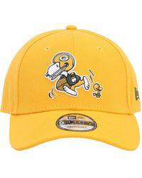 KTZ Nfl X Peanuts Green Bay Packers Hat - Gelb