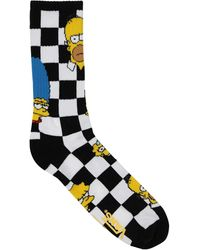 Vans X The Simpsons Crew ソックス - マルチカラー