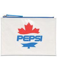 DSquared² - Pepsi Pvc ジップポーチ - Lyst