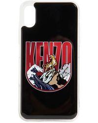 KENZO Iphone X/xs-cover Mit Logo - Schwarz