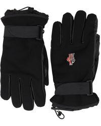 3 MONCLER GRENOBLE Handschuhe aus Tech-Material - Schwarz