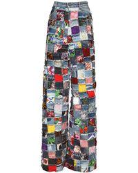Dolce & Gabbana Джинсы Из Жаккарда И Денима - Многоцветный