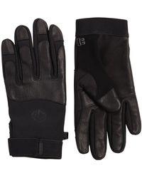Stone Island Softshell Techno Gloves - Black