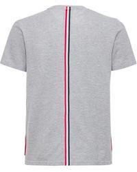 Thom Browne コットンジャージースウェットシャツ - グレー