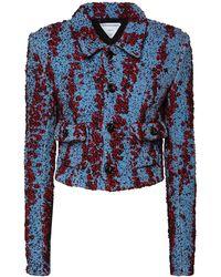 Bottega Veneta Куртка Из Букле - Синий