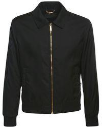 Versace Куртка Из Нейлона - Черный