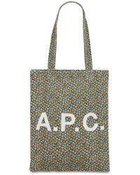 A.P.C. Сумка Из Хлопкового Канвас С Принтом - Многоцветный