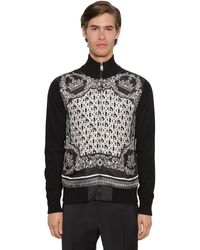 Dolce & Gabbana Cardigan Aus Seide Und Kaschmir - Schwarz