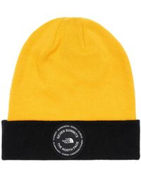 The North Face 7 Se Cotton Blend Beanie - Yellow
