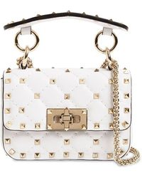 Valentino Garavani - Micro Rockstud Spike Leather Bag - Lyst