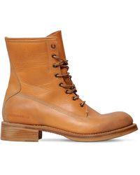 DSquared² Кожаные Ботинки - Коричневый