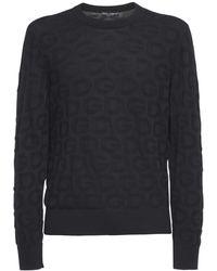 Dolce & Gabbana Свитер Из Шёлкового Трикотажа - Черный