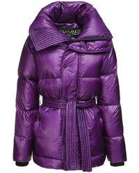 DSquared² Куртка На Пуху - Пурпурный
