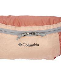 Columbia Riñonera Plegable Ligera - Naranja