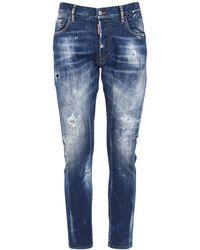 DSquared² Tidy Biker ストレッチデニムジーンズ 17cm - ブルー