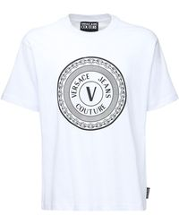Versace Jeans Couture - コットンtシャツ - Lyst
