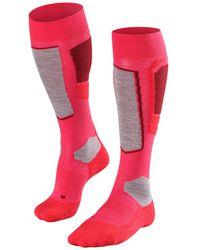 Falke Sk4 Techno Ski Socks - Pink