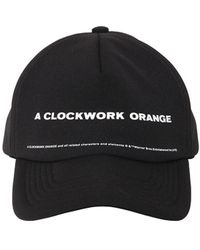 Undercover テクノ野球帽 - ブラック