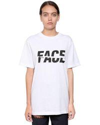 Facetasm T-shirts - Weiß