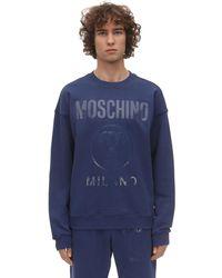Moschino - Хлопковый Свитшот С Принтом - Lyst