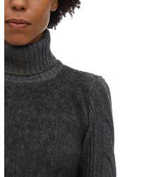 Max Mara Sweater Aus Wolle Und Mohair - Mehrfarbig